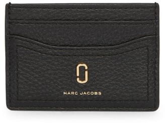 Marc Jacobs The Softshot Leather Card Case