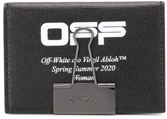 Off-White Off White paperclip card holder