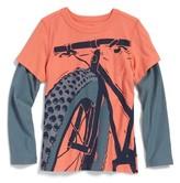 Tea Collection Boy's Fat Bike Graphic T-Shirt