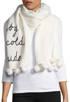 Kate Spade Baby Its Cold Outside Scarf