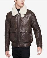 Andrew Marc Men's Aviator Leather Jacket