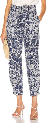 Ulla Johnson Storm Jean in Floral Patchwork | FWRD