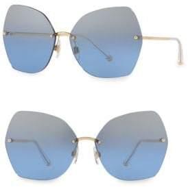 Dolce & Gabbana 64MM Butterfly Sunglasses
