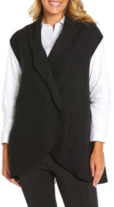 Marc O'Polo Marco Polo Draped Boiled Wool Vest