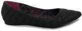 C Label Black Stitch Paige Flat