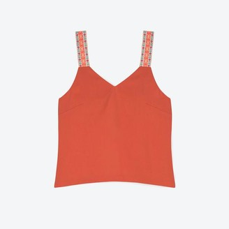 Lowie Apricot Lyocell Top - S