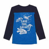 Star Wars Long Sleeve Logo Sweatshirt - Preschool Boys
