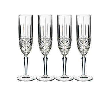 Waterford Marquis Brady Champagne Flutes - Set of 4