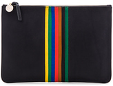 Clare Vivier Rainbow Margot Flat Supreme Clutch