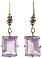 Cathy Waterman Pink Amethsyt Drop Earrings