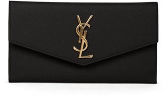 Saint Laurent Uptown Leather Wallet