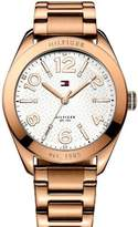 Tommy Hilfiger Women's 1781260 Rose-Gold Stainless-Steel Quartz Watch with Dial