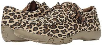 Roper Chillin Leopard (Light Beige Leopard Print Fabric) Women's Boots