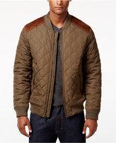 Sean John Men's Quilted Bomber Jacket