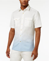 Sean John Men's Dip-Dyed Linen Shirt, Only at Macy's