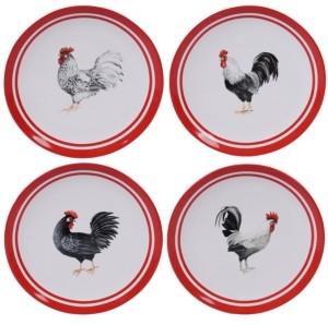 Certified International Homestead Rooster 4-Pc. Dinner Plate