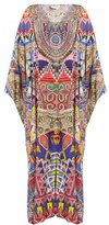 Camilla Dream Weavers-print silk maxi dress