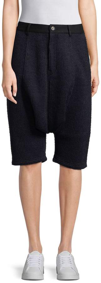 Y-3 Women's Wool Saroul Cropped Pants