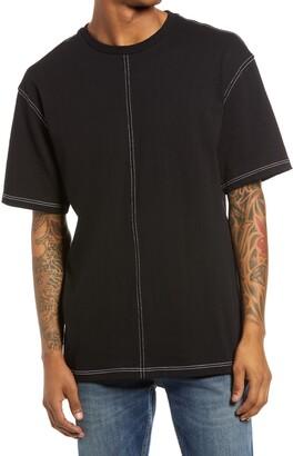 Topman Contrast Stitch T-Shirt