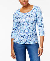 Karen Scott Printed Top, Created for Macy's