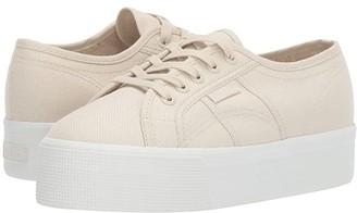 Superga 2790 Acotw Platform Sneaker (Grey Sage) Women's Lace up casual Shoes