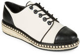 Karl Lagerfeld Paris Lena2 Cap Toe Oxfords