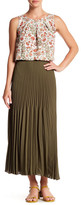Max Studio Maxi Pleated Skirt