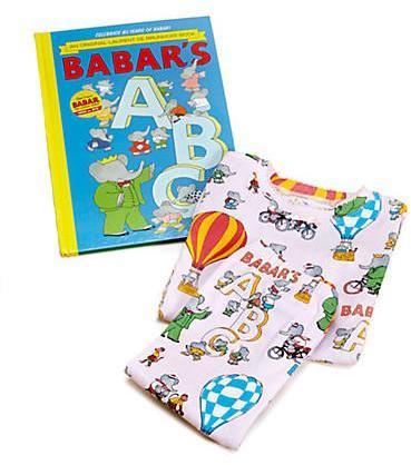 Babar Girls Book and Pajamas Set