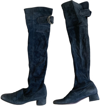 Maliparmi Anthracite Suede Boots