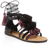 Rebecca Minkoff Elisha Tasseled Ankle Wrap Sandals