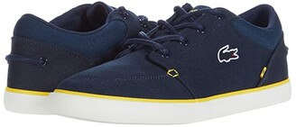 Lacoste Bayliss 220 1 (Navy/Yellow) Men's Shoes