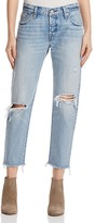 Levi's Wedgie Selvedge Straight Jeans in Lost Inside