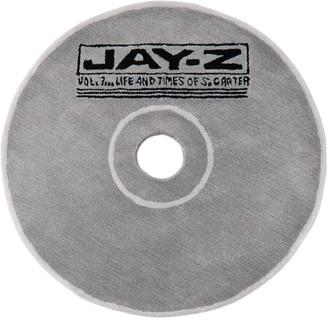 Curves by Sean Brown SSENSE Exclusive Grey Handmade CD Rug