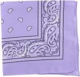 QuStars 6pcs 100% Cotton Double Sided Classic Paisley Print Bandana Handkerchief