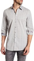 Lindbergh Dotted Long Sleeve Regular Fit Shirt