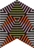 Kinder GROUND Rocketship Carpet - Thunder Zebra (4 piece Diamond)