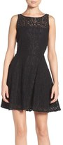 BB Dakota Women's Paloma Lace Fit & Flare Dress