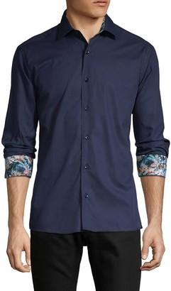 Bertigo Floral-Print Long-Sleeve Shirt