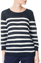 Precis Petite Slub Striped Jumper
