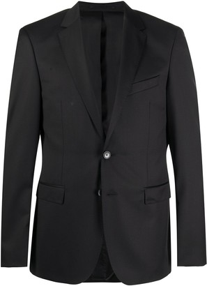HUGO BOSS Slim Fit Fine Knit Suit Jacket