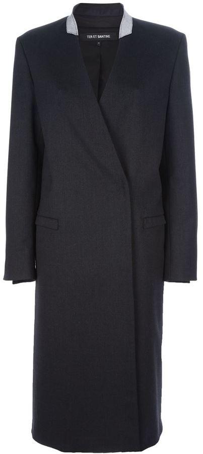 Ter Et Bantine structured coat