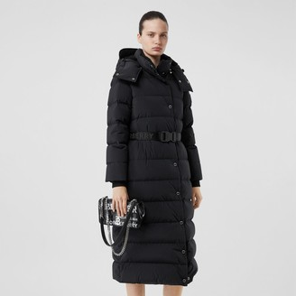 Burberry Detachabe Hood Beted Puffer Coat