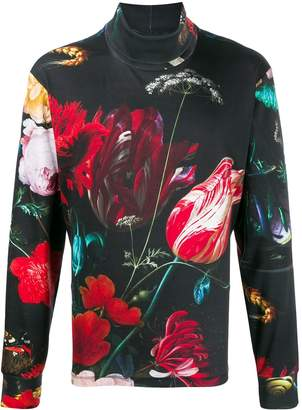 Paul Smith floral print sweater