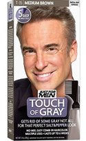 Just For Men Touch of Gray Haircolor T-35 Medium Brown, 1 Each ( Pack of 1)