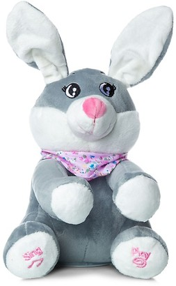 Peek A Boo Sing & Play Interactive Bunny Plush Toy