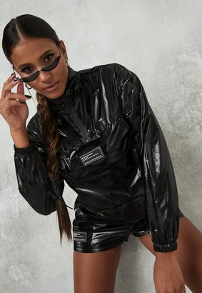 Missguided Pocket Front Cropped Jacket