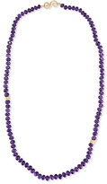 Splendid Single-Strand Faceted Amethyst Necklace, 30""
