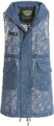 Mr & Mrs Italy Macrame Lace Embroidery Long Waistcoat