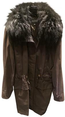 Gucci Brown Fox Coat for Women