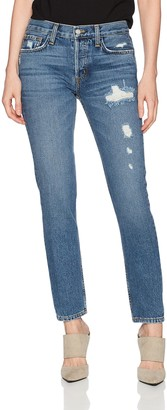 SIWY Women's Nona Mid Rise Skinny Jeans in Back in The Days 26